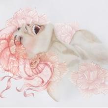 Mi Proyecto del curso: Retrato ilustrado en acuarela. Un projet de Illustration, Peinture, Dessin , et Aquarelle de Isabel Mejia Borrero - 14.09.2018