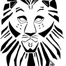 Emblema Black Lion Illustration. Un proyecto de Br, ing e Identidad, Ilustración e Ilustración digital de Alejandro Fuentes Alonso - 31.03.2018