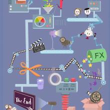 Infografía. Un proyecto de Diseño de la información, Infografía e Ilustración vectorial de Sofía Villafañe - 15.01.2017