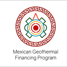 Logo Mexican Geothermal Finance Program. Un projet de Illustration vectorielle de Morgan Mariana Guido - 01.08.2018