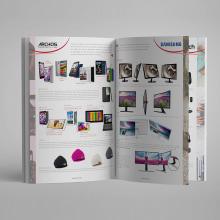 Catálogos Generales DMI Computer. Un proyecto de Diseño editorial y Marketing de Sofía Villafañe - 08.01.2016