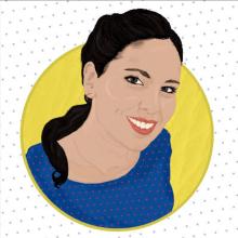 Autorretrato. Un proyecto de Dibujo artístico e Ilustración de retrato de Sofía Villafañe - 09.09.2018