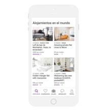 Aplicación de viajes tipo Airbnb. Mi Proyecto del curso: UX: prototipado y diseño de una app de comercio electrónico con Axure 8. A UI / UX, and Web Design project by Julieta Kozlowski Cherñajovsky - 09.22.2018