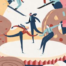 Albert Pinilla illustration for the magazine PAN. Un proyecto de Diseño editorial, Diseño gráfico e Ilustración de Albert Pinilla Ilustrador - 25.09.2018