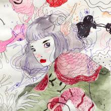 Dibujos 17'. Un progetto di Disegno e Illustrazione di Violeta Hernández - 23.08.2018