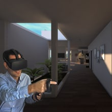 VR experence for home automation system. A 3D, and Video game project by Mariia Mosunova - 09.27.2018