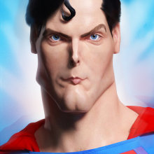Jeff Stahl's Superman by Dr. Stendhal. A 3D, and 3d modeling project by dr_stendhal - 12.28.2016