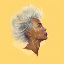 Women. A Design, Illustration, Skizzenentwurf, Zeichnung, Digitale Illustration, Porträtillustration, Porträtzeichnung und Realistische Zeichnung project by Juan Jesús Martínez - 03.10.2018
