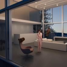 Mi Proyecto del curso: Representación de espacios arquitectónicos con 3D Studio Max. Un proyecto de 3D de Laura Molina Sepúlveda - 04.10.2018