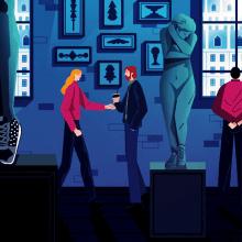 Pepe Jeans. Join the Club. Um projeto de Ilustração, Motion Graphics, Cinema, Vídeo e TV, Animação, Direção de arte, Design de personagens, Pós-produção, Design de som, Rigging, Animação de personagens, Ilustração vetorial, Animação 2D, Esboçado, Criatividade e Ilustração digital de offbeatestudio - 05.10.2018