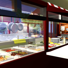 Inside the Food Truck. A 3D project by Juanita rubio - 04.05.2016