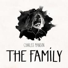 La Familia Manson :: Infografía. Um projeto de Ilustração, Infografia e Ilustração de retrato de Diana Bóveda García - 09.10.2018