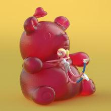 NIKE EPIC REACT. A Rigging, Animation von Figuren, 3-D-Animation und Design von 3-D-Figuren project by Buda.tv - 09.10.2018