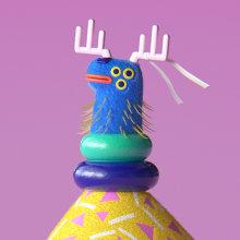 WALKING CHRISTMAS. Um projeto de Rigging, Animação de personagens e Animação 3D de Buda.tv - 09.10.2018