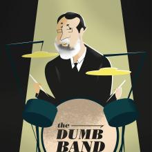 Mi Proyecto del curso: Caricatura Rajoy drummer. Un projet de Dessin de portrait de J Blagona - 12.10.2018