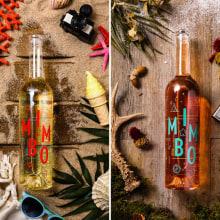 Mimbo Wine. A Br, ing und Identität, Grafikdesign, Verpackung, Cop, writing, Naming und Icon-Design project by Víctor Montalbán - 12.10.2018