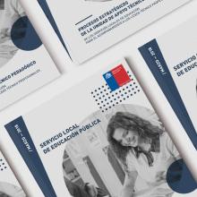 Libro Grupo Educativo / Mineduc. A Editorial Design, and Graphic Design project by Rodrigo Pizarro - 10.19.2018