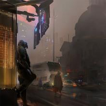 OLD CITY. A Concept Art project by Nacho Yagüe - 10.21.2018