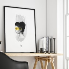 Digital Portrait . A Illustration, and Digital illustration project by Johanna Roussel - 03.09.2018