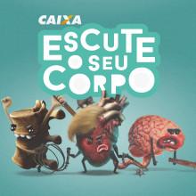 Escucha tu cuerpo. A Illustration, Werbung, Design von Figuren, Bildung und Marketing project by Cheo Gonzalez - 26.10.2018