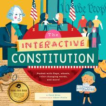 """Albert Pinilla illustrator """"The Interactive Constitution"""" by Bushel & Peck Books. Un proyecto de Ilustración, Dirección de arte, Diseño editorial y Diseño gráfico de Albert Pinilla Ilustrador - 29.10.2018"""