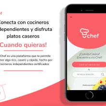 Desarrollo UX - Plataforma UChef. Un proyecto de UI / UX de Patricia Gonzalez Garcia - 30.10.2018