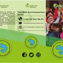 Chameleon Theatre. Rediseño de Logotipo y Papelería Publicitaria. A Illustration, and Poster Design project by Lucas F. B - 06.24.2018