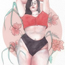 A real woman is whatever the hell she wants to be. Un proyecto de Ilustración de Amalia Torres - 03.11.2018