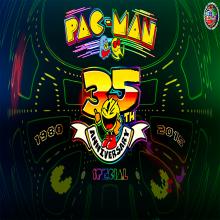 35.° ANIVERSARIO DE PAC-MAN 1980-2015. Un projet de Jeux video de Alberto Antonio Estrada - 24.08.2018