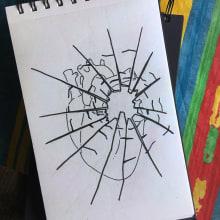INKTOBER 2018. Um projeto de Esboçado, Desenho a lápis, Desenho e Desenho artístico de Antonio Fernández San Emeterio - 31.10.2018