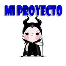 Mi Proyecto del curso: Dos personajes mi versión de Maléfica y Clarilu. A Vector Illustration project by Andrés Vizueta - 11.12.2018