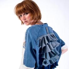 """""""Reacción"""" Colección de moda con materiales reciclados y tejidos orgánicos. A Musterdesign, Modedesign und Prägung project by Rosa Brualla - 14.11.2018"""