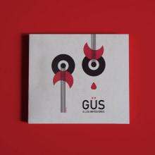 Diseño del disco de Güs & Los Impostores. Um projeto de Música e Áudio, Design editorial, Packaging e Ilustração vetorial de Diana Creativa - 17.11.2018