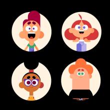 Emociones para la série Saturday Club. A 2D Animation project by Josep Bernaus - 11.20.2018