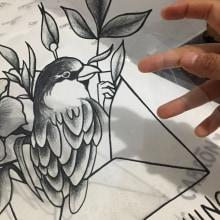 Send something cabrón (Serigrafía). Un proyecto de Diseño, Serigrafía, Dibujo a lápiz y Dibujo realista de Daniela Salazar - 18.11.2018