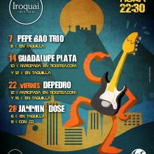 IROQUAI / Jaén. Un proyecto de Diseño de carteles de Antonio de Haro Garzón - 29.11.2013