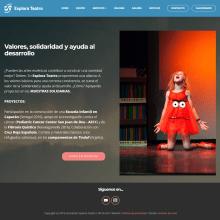 EXPLORA TEATRO / Madrid. Un proyecto de Diseño Web de Antonio de Haro Garzón - 27.11.2018