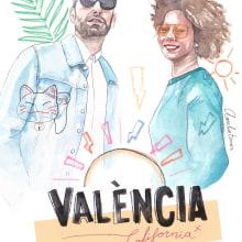 Valencia California. Un proyecto de Ilustración de Amalia Torres - 30.11.2018