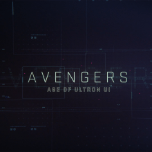 AVENGERS: Age of Ultron - UI REEL. A Motion Graphics, UI / UX und Kino project by Ernesto Porto - 13.08.2015