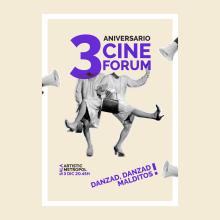 Diseño de cartel para evento de Cineforum. Um projeto de Eventos, Cinema e Design de cartaz de Diana Creativa - 04.12.2018