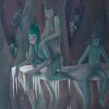 La Reina de las Nieves. Proyecto del curso: Ilustración digital para cuentos infantiles.. Un projet de Illustration numérique de Marta Elza - 06.12.2018