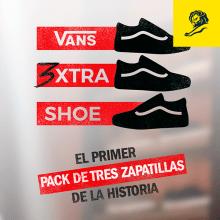 Vans 3xtra Shoe. Um projeto de Design, Publicidade, 3D, Animação, Direção de arte, Design gráfico, Packaging, Design de calçados, Lettering, Animação 2D e Design de cartaz de Sergio Kian - 14.05.2017