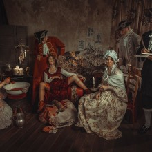 """Una historia real """"Mary Toft"""". A Photograph, Film, Video, TV, Art Direction, Film, Photo retouching, and Portrait photograph project by Rebeca Saray - 12.11.2018"""