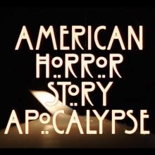 """American Horror Story """"Apocalypse"""" títulos de crédito. Um projeto de Design de títulos de crédito de Silvia Grav - 13.12.2018"""