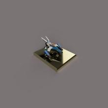 Final Project of 3D Modeling 2018. Un proyecto de 3D y Modelado 3D de Sebastian Hernandez Maldonado - 12.12.2018