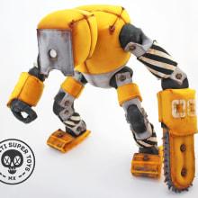30T Serie-1. Um projeto de Design de personagens, Design de jogos, Escultura, Design de brinquedos, Comic, Criatividade, Concept Art e Costura de Piti Piti - 17.12.2018