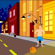 Ejercicio Animate - Ejercico pesos. Un proyecto de Animación, Diseño de personajes, Animación de personajes, Animación 2D, Stor y board de Miguel Camacho Gordaliza - 19.12.2018