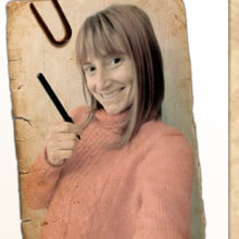 Ficha de personaje Inma Gallardo. A Design, Art Direction, Character Design, Game Design, Graphic Design, Interactive Design, Character animation, Photo retouching, Drawing, Digital illustration, and Artistic drawing project by Inma Gallardo - 12.19.2018