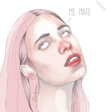 Me mato. Un proyecto de Ilustración de Amalia Torres - 19.12.2018