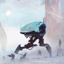 Robotejos y trastos.. A Design von Figuren, Videospiele und Concept Art project by J.Alexander Guillen - 21.12.2018
